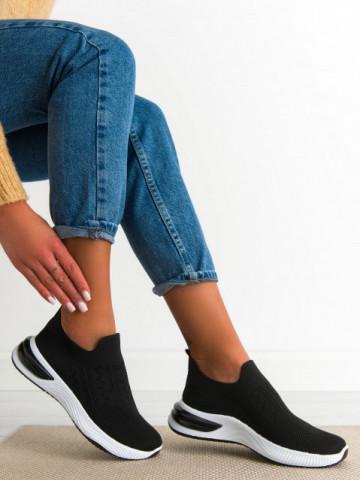 Pantofi sport cod 2046 Black