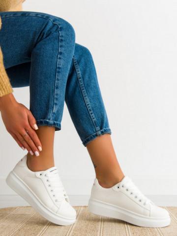 Pantofi sport cod 220 White/Black