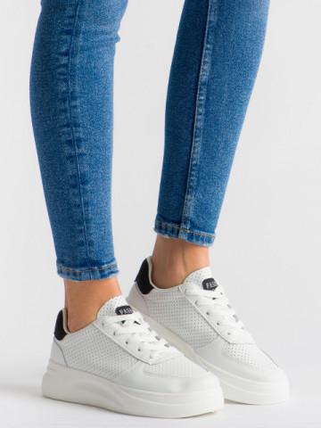 Pantofi sport cod 5816 White/Black