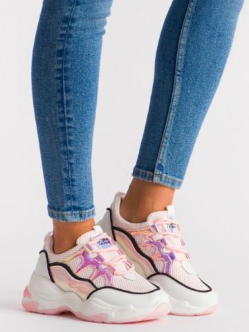 Pantofi sport cod 5819 Pink