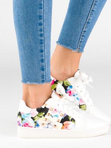 Pantofi sport cod 7187-41 White