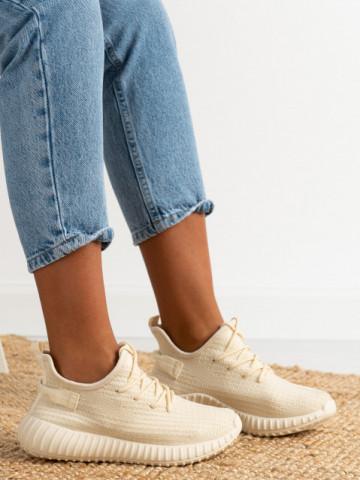 Pantofi sport cod 7817 Beige