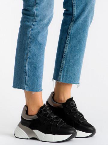 Pantofi sport cod A1053 Black