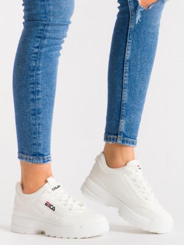 Pantofi sport cod ABC-305 White