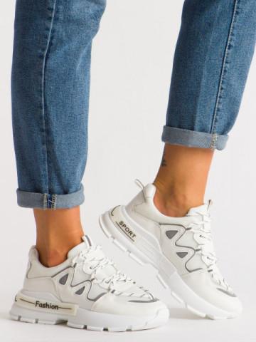 Pantofi sport cod B05 White