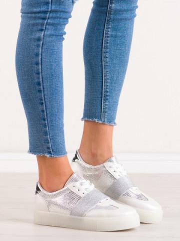 Pantofi sport cod B15 White