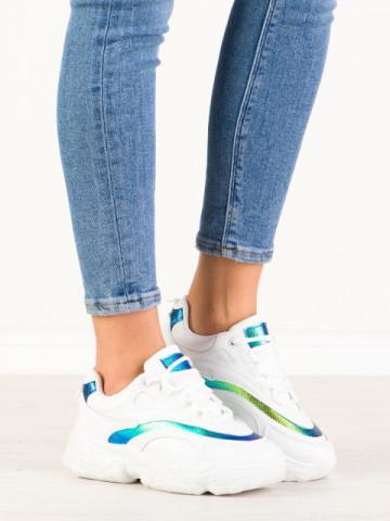 Pantofi sport cod B17 White