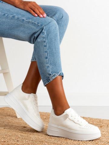 Pantofi sport cod B21-531 White