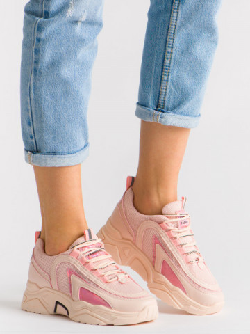 Pantofi sport cod B61 Pink