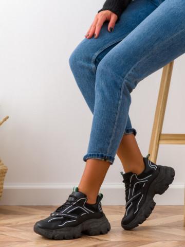 Pantofi sport cod BK06 Black