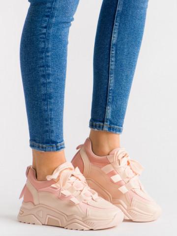 Pantofi sport cod C199 Pink