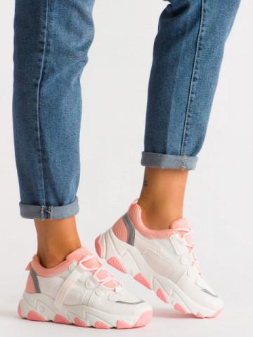 Pantofi sport cod D15 Pink