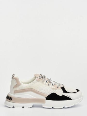 Pantofi sport cod D856 White