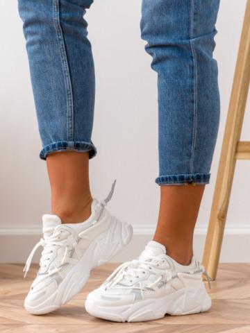 Pantofi sport cod E200 White