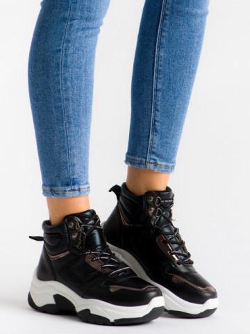 Pantofi sport cod E2031 Black