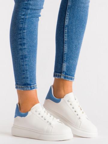 Pantofi sport cod G330-4 White/Blue