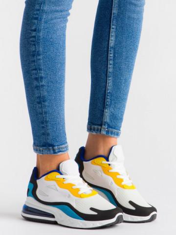 Pantofi sport cod GB79 White/Blue
