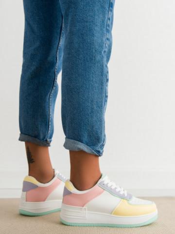 Pantofi sport cod HY626-14 Yellow/Pink