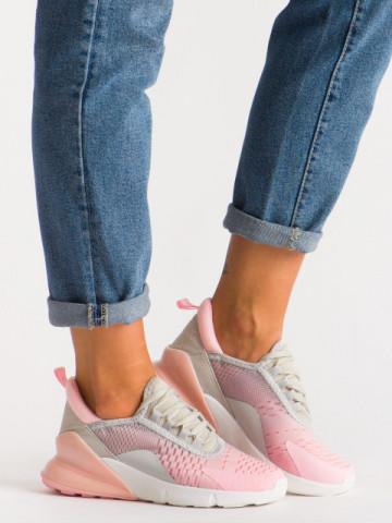 Pantofi sport cod J1812 Grey/Pink