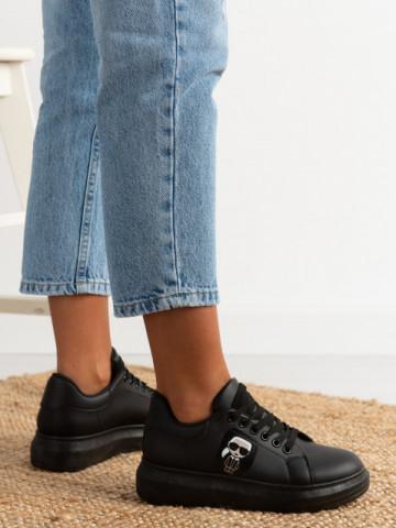 Pantofi sport cod J1855 Black