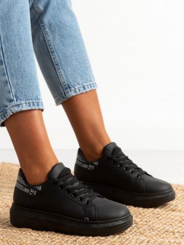 Pantofi sport cod J1858 All Black