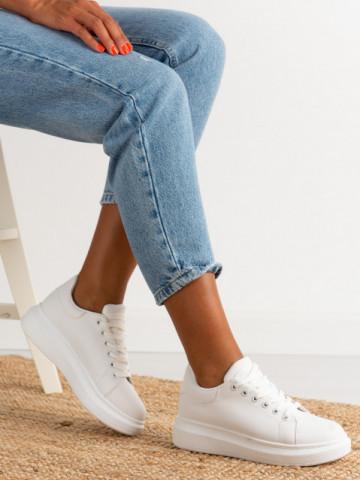 Pantofi sport cod J1860 White