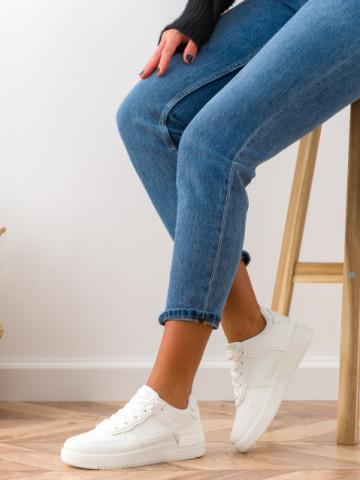 Pantofi sport cod K01 White