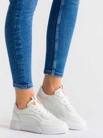 Pantofi sport cod N68 White