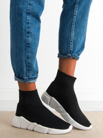 Pantofi sport cod R635 Black