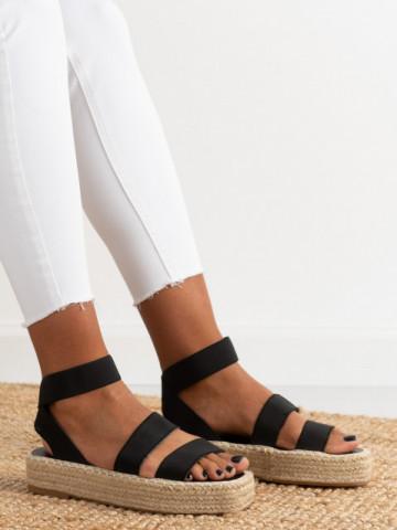 Sandale cod 6000287 Black