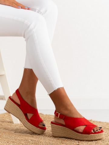 Sandale cod 9R67 Red