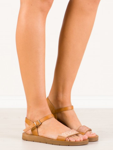 Sandale cod WS105 Brown