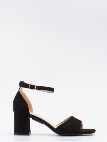 Sandale cu toc cod GG101 Black