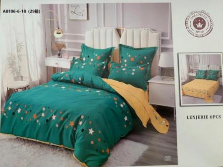 Lenjerie de pat 6 piese din Finet Gros-GR6N 614