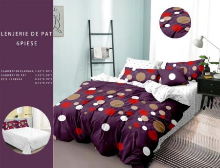 Lenjerie de pat 6 piese din Finet Gros-GR6F 625