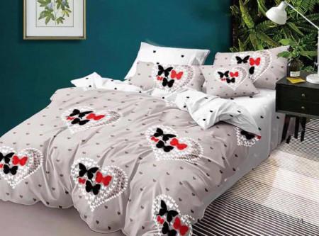 Lenjerie de pat 6 piese din Finet Gros-GR6N 572