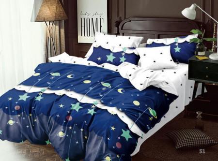 Lenjerie de pat 6 piese din Finet Gros-GR6N 586