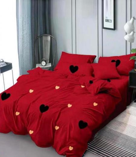 Lenjerie de pat 1 persoana din Finet Gros-GR4E 82