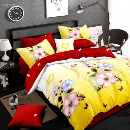 Lenjerie de pat 1 persoana din Finet Gros-GR4E 91