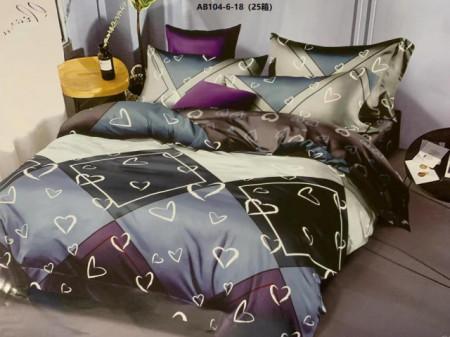Lenjerie de pat 6 piese din Finet Gros-GR6N 613