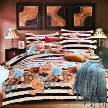 Lenjerie de pat 1 persoana din Finet Gros-GR4E 84