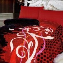 Patura Groasa cu model gofrat pentru pat dublu, greutate 4 KG-MT 06