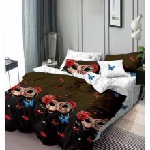 Lenjerie de pat 1 persoana din Finet Gros-GR4E 94