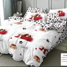 Set Lenjerie de pat 6 piese din Finet Gros-GR6C 513