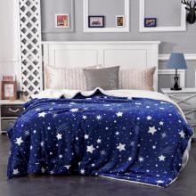 Pătură Supersoft îmblanită pentru pat dublu-APB 11, Greutate 2.5 KG