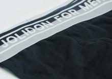 Chilot tanga barbati N71BL negru Jolidon