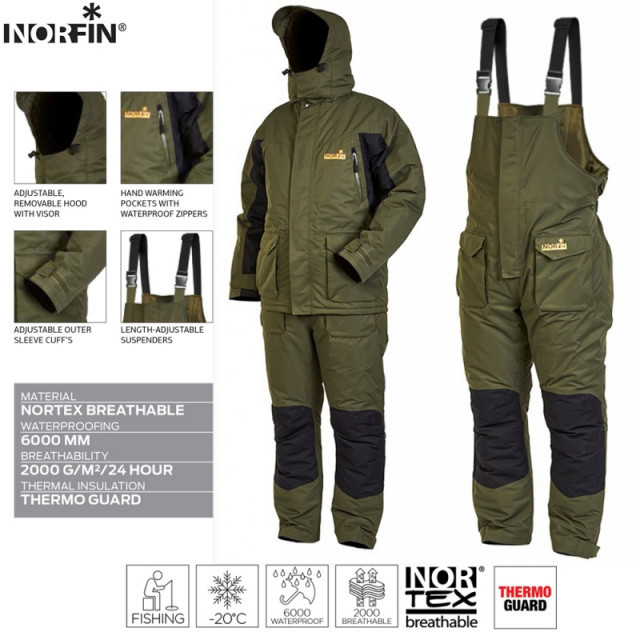 Costum Norfin Element, M Norfin Oferta pescar-expert