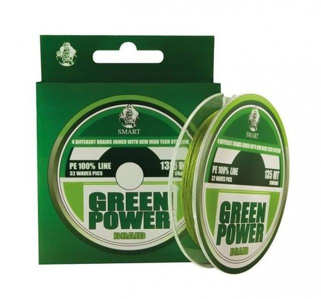 Fir textil Green Power, 135m Maver (Diametru fir: 0.13 mm) Maver Oferta pescar-expert