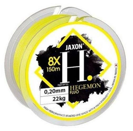 Fir textil Jaxon Hegemon 8X galben fluo, 150m (Diametru fir: 0.14 mm) Jaxon Oferta pescar-expert