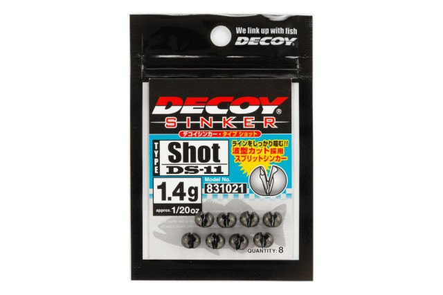 Plumbi Decoy Ds-11 Sinker Type Shot (Greutate: 0.6g) Decoy Oferta pescar-expert